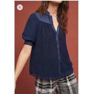 Anthropologie Maeve Lavoie blouse